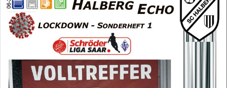 Halberg Echo - Corona-Sonderheft 1