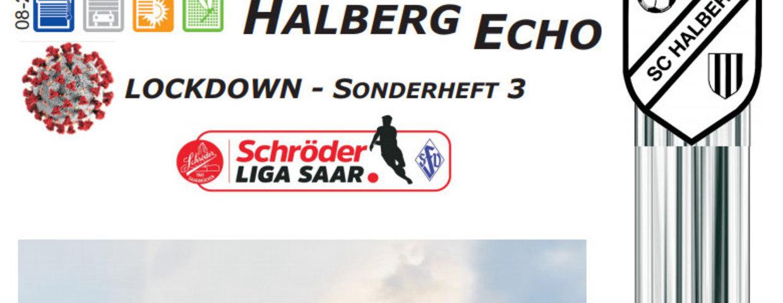 Halberg Echo - Corona-Sonderheft 3