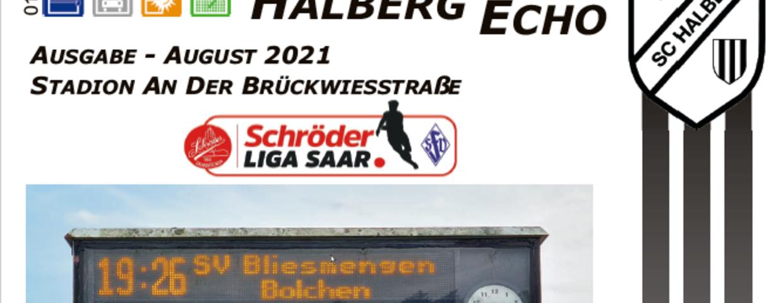 Halberg Echo #01 - 2021/22