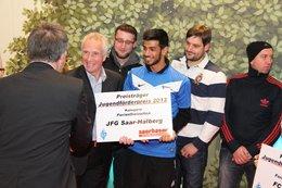Saarbasar - Jugendförderpreis des SFV