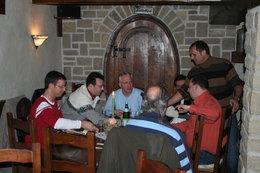 Weinprobe Fördergemeinschaft Halberg Brebach am 18.3.2006